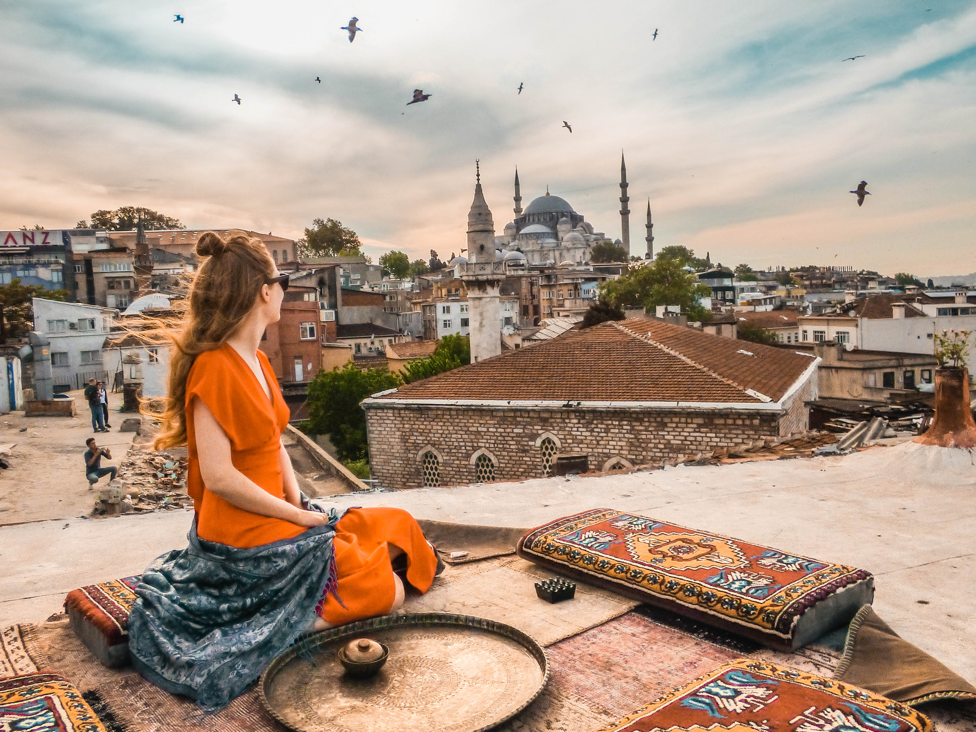 The Rooftops Of Istanbul